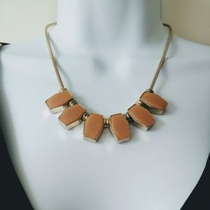 Loft Enamel statement necklace